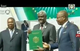 موسى فكي: منظمة التجارة الحرة تحقق تطلعات الشعوب الإفريقية لمنع الهجرة