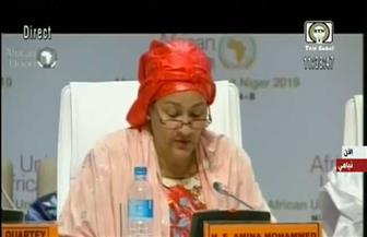 نائبة الأمين العام للأمم المتحدة تثمن مشاركة المرأة بدول الاتحاد الإفريقي