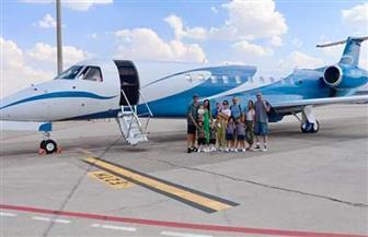 راموس يغادر الغردقة بطائرة خاصة   صور
