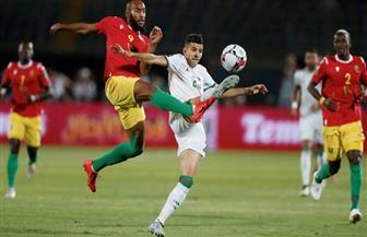 """الجزائر تتقدم على غينيا بهدف نظيف في الدقيقة 24 بـ""""أمم إفريقيا"""""""