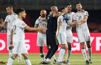 الجزائر تضرب غينيا بثلاثية وتطير لربع نهائي كأس أمم إفريقيا
