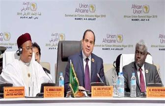 الرئيس السيسي: هناك اتفاق على ضرورة الإسراع فى تنفيذ مشروعات البنية التحتية بالقارة الإفريقية