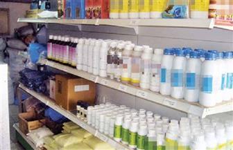 ضبط 2000 عبوة مبيدات زراعية مجهولة المصدر بالفيوم