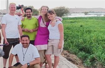 وفد تليفزيوني بريطاني ينتهي من تصوير فيلم وثائقي عن مصر