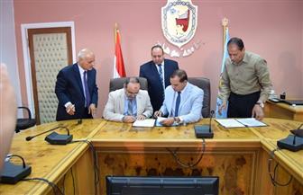 بروتوكول تعاون بين جامعة سوهاج ووزارة التربية والتعليم