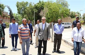 الهجان يتفقد مصنع الأعلاف والمشروعات الخدمية بمدينة قنا | صور