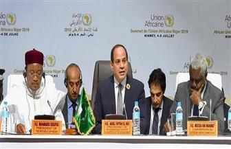 """خارجية """"الحرية المصري"""" تعد تقارير بعدة لغات عن إنجازات الرئيس خلال رئاسته الاتحاد الإفريقي"""