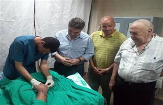 فريق طبي بالمستشفى الجامعي بطنطا ينجح في إعادة نصف ذراع مبتور لطفل| صور