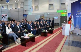 وزارة الطيران والسياحة يشهدان التشغيل التجريبي لمطار العاصمة الدولي