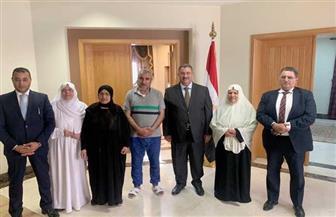 القنصلية المصرية بجدة تنجح في الإفراج عن المعتمرين المتهمين بحيازة مخدرات| صور