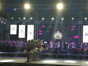 بدء الاحتفال بالعيد القومى لمحافظة القاهرة في مركز شباب الجزيرة