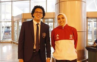 جيانا فاروق تعد جماهير مصر بميدالية إفريقية