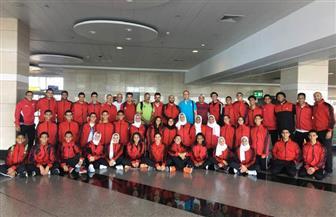 بعثة الكاراتيه تطير إلى تونس للمشاركة في البطولة العربية للناشئين والشباب