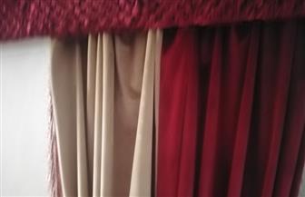 افتتاح معرض للستائر المنزلية في قصر ثقافة دمياط | صور