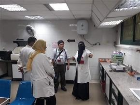 وفد هيئة الجايكا اليابانية يتفقد مستشفى مجمع التأمين الصحي بطنطا |صور