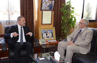 محافظ الإسماعيلية يستقبل مدير الأمن الجديد لمناقشة آليات التعاون بينهما