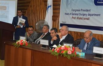 رئيس جامعة كفر الشيخ يشارك في مؤتمر الجراحة العامة بكلية الطب   صور