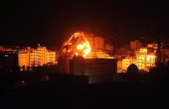 قصف وإطلاق نار إسرائيلي وسط قطاع غزة