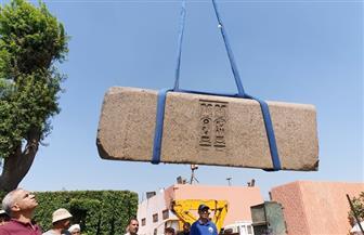 المتحف المصري الكبير يستقبل قطع أثرية ضخمة من التحرير | صور