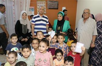 بمناسبة عيد الأضحى المبارك.. محافظ المنوفية يتفقد دور الأيتام ويوزع العيدية على الأطفال بشبين الكوم | صور