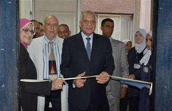 محافظ الجيزة يفتتح توسعات 5 أقسام بمستشفى التحرير العام  صور