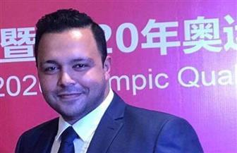 محمد شعبان أول مصري يدير مسابقة في الأوليمبياد | صور