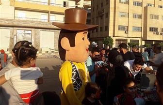 أهالي الغربية يواصلون الاحتفال بالمتنزهات والملاهي والنوادي في ثاني أيام العيد