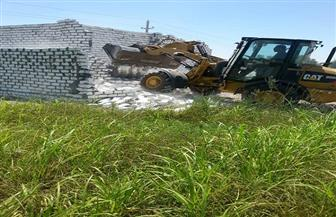 تنفيذ 43 قرار إزالة تعديات على أراضى زراعية وأملاك ري في سوهاج