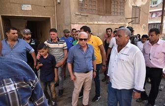 محافظ بورسعيد يأمر بالحل الفوري لمشكلة الصرف الصحي.. ومشروع فوري لرفع كفاءة منطقة فاطمة الزهراء