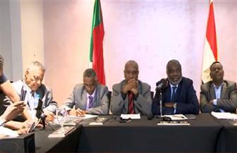 مؤتمر صحفي مشترك لأعضاء وفدي الجبهة الثورية السودانية وقوى الحرية والتغيير بالقاهرة