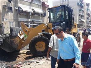 تنفيذ 70 قرار إزالة تعديات ومبانٍ عشوائية في منطقة فاطمة الزهراء ببورسعيد