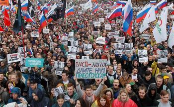 الكرملين: الاحتجاجات في موسكو لم تسبب أزمة سياسية