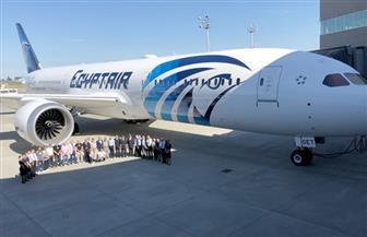 """""""بوينج"""" تحتفل بتسليم مصر للطيران طائرة الأحلام السادسة"""