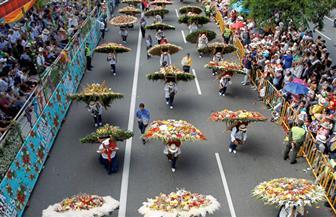كولومبيا تتزين بالألوان في مهرجان الزهور السنوي | فيديو