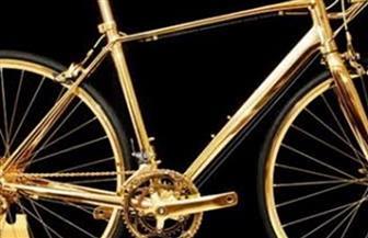 دراجة مُصنّعة من كبسولات القهوة