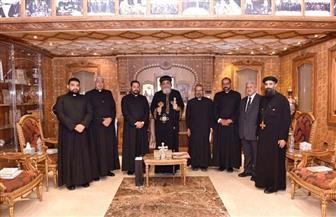 البابا تواضروس يستقبل المرشح لمنصب النائب البطريركي الكاثوليكي بمصر/ صور