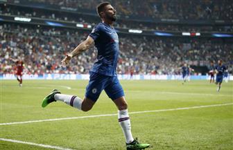 جيرو يسجل الهدف الأول لتشيلسى فى شباك ليفربول بالسوبر الأوروبى