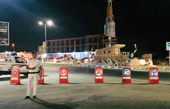 محافظ مطروح يشدد على تيسير الحركة المرورية داخل المدينة