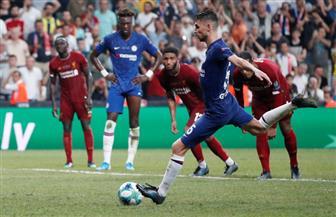 جورجينو يسجل هدف التعادل في مرمى ليفربول بالسوبر الأوروبي