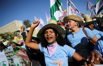 عشرات آلاف النساء يتظاهرن ضد الرئيس بولسونارو في البرازيل