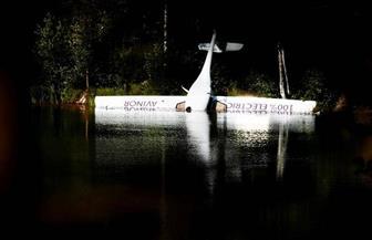 هبوط اضطراري على بحيرة لأول طائرة كهربائية نرويجية