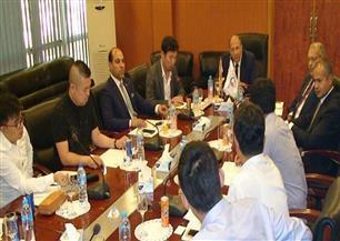 رئيس هيئة التنمية الصناعية يبحث التعاون الصناعي مع جامعة SEU الصينية
