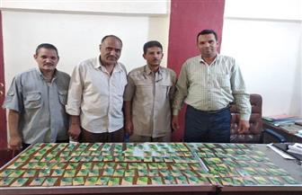 ضبط 159 بطاقة تموين ذكية في مخبز وسلع تموينية بجمعيتين بالفيوم | صور