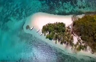 """جزيرة """"بورت بارتون"""" وجهة مميزة لمحبي الطبيعة الخلابة وإطلالة المحيط   فيديو"""