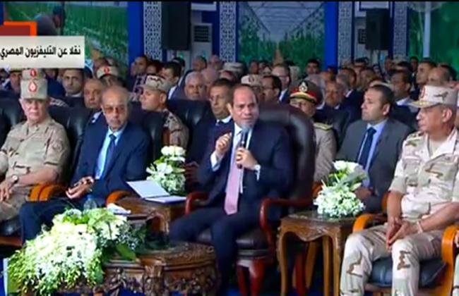 تفاصيل حوار الرئيس السيسي مع رئيس الشركة الوطنية للزراعات المحمية حول مرتبه ومحل إقامته -