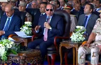الرئيس السيسي: نواجه تحديا كبيرا في النمو السكاني ووجب على الدولة اقتراح حلول حديثة