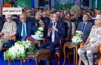 الرئيس السيسي: الفكر التدميري يستهدف استنزاف مقدرات الدول وجرها إلى صراع لا ينتهي