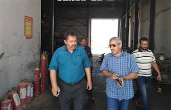 رئيس مدينة القصير يتفقد المحطة الغازية للوقوف على انتظام التيار الكهربائي بكل مناطق المدينة| صور