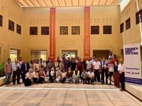 انطلاق معسكر التنمية المستدامة فى جامعة برلين التقنية بمدينة الجونة| صور