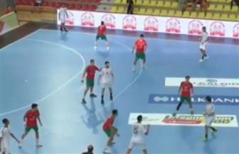 مع نهاية الشوط الأول.. مصر تتقدم على البرتغال 20 / 19 في مونديال الناشئين لليد